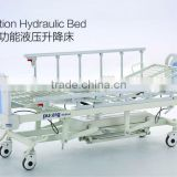 2016 new S-4-1Five-function hydraulic motor hospital bed, hydraulic hospital bed