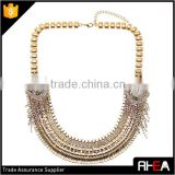 Wedding Choker Crystal Necklace,American Design Chain Necklace,Fashion Bib Woman Necklace