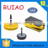 adjustable anti vibration mount pads base for machines