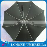 superior quality aluminum shaft fiberglass ribs pongee fabric golf umbrella
