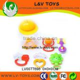 2013 hot sale new fashion bottle pack(5 pcs in 1) baby bell rattle ABS material for kids play with EN71 bell