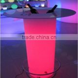 XV-6011-BTB LED illuminated glowing cocktail table bar table hight table for bar club party weddding event
