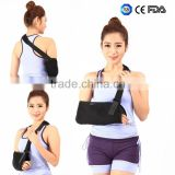 Orthopedic arm / shoulder support brace arm immobilizer arm sling with high breathable mesh cloth