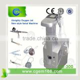 CG-300 Almighty Oxygen Jet Body And Wrinkle Removal Facial Care Machines For Skin Care Oxygen Facial Equipment