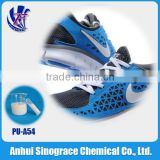 Shoes sole footwear polyurethane emulsion adhesive/binder PU-A54