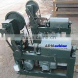 Wire mesh straightening and cutting machine
