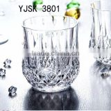 2014 New Arrival Hot Sale Green Drinking crystal Glass Cup /Water/Whiskey/Wine/Beer/Shot/Liqueur&Logo Print Emboss