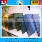 4mm 5mm 6mm Gold blue sheet class bronze grey green Reflective Glass with CE & ISO9001 Glass window