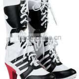 walson Harley Quinn DC Suicide Squad Boots Heels Shoes Cosplay Movie Hollywood LOVE
