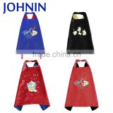 Wholesale High Quality 60x70cm Satin Superhero Capes Costume For Kids