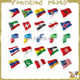 Polyester red white green flag/red white blue flag FGF-0010