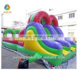 New excited outdoor sport game Inflatable Obstacle