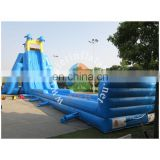40m adult giant inflatable water slip and slide