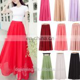 plus size wholesale chiffon loose long maxi tulle skirt summer dresses for women dongguan city jin ying apparel co., ltd.