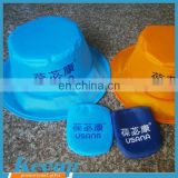 Popular promotional gifts wholesale cheap custom logofoldable polyester hats
