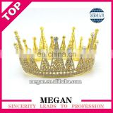 Hair accessories ladies rhinestone princess crown bridal crystal tiara crown