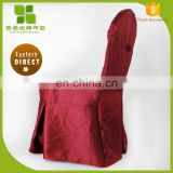 Professional high quality custom hotel pleated chair cover for wholesales