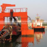 26inch China small hydraulic cutter suction dredger with double dredging pumps sale for sand dredging with cutter head