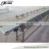online weight sorting machine/fruit weight classifier