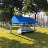 Summer Camping Tent, Outdoor Forest Ventilate Tents Two Man, Lightweight Backpacking Equipment