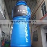 Giant blue inflatable drink bottle,wine bottle for advertising/promotion