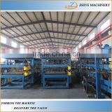 automatic insulated metal sheet&eps sandwich wall panel cold making machine