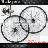 High quality mtb wheels 29 inch carbon mtb wheels mtb carbon tubeless wheels mountain bike wheels