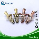 hot sell e cigarette drip tip e cig metal