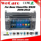 Wecaro WC-MB7682 Android 5.1.1 quad core navigation system for Benz A B Class Viano Vito Car DVD Player radio gps multimedia