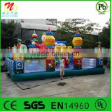 2014 popular indoor&outdoor inflatable fun city                                                                         Quality Choice