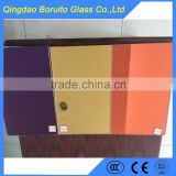 4mm Gloden colored mirror glass sheet