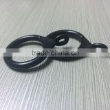 Plastic curtain ring Hanging ring hanging / The shower curtain hook ring / Rome bar steel pipe / Curtain ring buckle