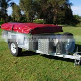 hot dipped galvanized tent camper trailer