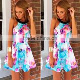Women designer one piece party dress holiday summer beach apparel dress for women clothing