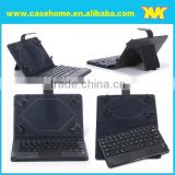 universal bluetooth leather keyboard tablets case , wireless keyboard for android tablets