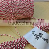 50 m - Red & White Bakers, Butchers, Craft, Parcel String Twine