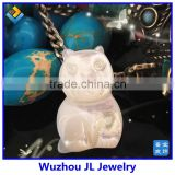 Fashion teddy bear pendant beads necklace pendant mother of pearl women Spain's favorite