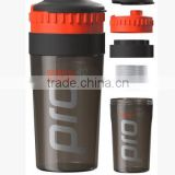 2015 600ml Plastic shaker bottle pc joyshaker cup garage use and eco-fiendly feature clear plastic bottle made in china