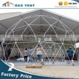 Geodesic dome tent Event dome tent White PVC cover wedding tent lighting and sound wedding tent for sale
