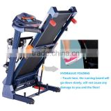 Indoor body fitness foldable electrical motorized house fit treadmill