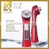 multifunctional beauty machine iontophoresis skin care device with LED display vibration for cosmetic massager