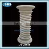 Fluted Marble Column Pillar