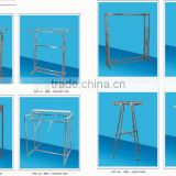 2015 supermarket shopping shelf & shelving for clothes,vegetables and fruits--- Style&Color variety customizable