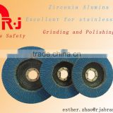Quality Zirconia Alumina Flap Discs excellent for stainless steel
