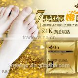 Beauty Personal Care Product AFY 24K Gold Foot Mask Foot Whitening Nourishing Moisturizing Mask