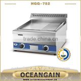 HGG-752 stainless steel gas griddle catering equipment for restaurant
