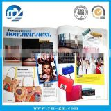 Customized offset printing magazine paper