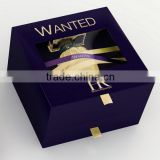 Custom Design Packaging Paper Perfume Box / Custom EVA holder foam insert Cardboard Paper Perfume Box