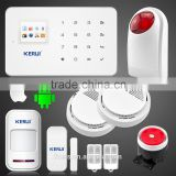 KERUI G18 based 99 wireless zone defense wireless digital home security gsm alarm system