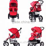CE standard comfortable baby jogger EN1888 3 wheels baby strollers